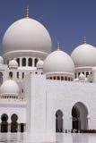 Μουσουλμανικό τέμενος Zayed σουλτάνων Στοκ Φωτογραφίες