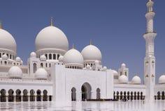 Μουσουλμανικό τέμενος Zayed σουλτάνων Στοκ φωτογραφίες με δικαίωμα ελεύθερης χρήσης