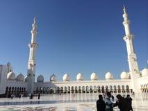 Μουσουλμανικό τέμενος Zayed Shaykh Στοκ εικόνα με δικαίωμα ελεύθερης χρήσης