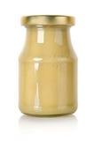 μουστάρδα βάζων γυαλιού Στοκ εικόνα με δικαίωμα ελεύθερης χρήσης