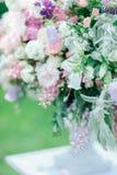 Μουτζουρωμένη εικόνα με την εστίαση στην ανθοδέσμη των λουλουδιών Στοκ φωτογραφίες με δικαίωμα ελεύθερης χρήσης