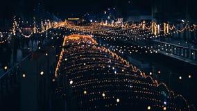 Μουτζουρωμένη νύχτα, ιερή νύχτα στοκ εικόνες