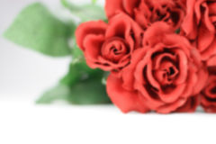 μουτζουρωμένοι κόκκινο Στοκ Φωτογραφίες