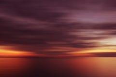 μουτζουρωμένο ηλιοβα&sigma Στοκ φωτογραφία με δικαίωμα ελεύθερης χρήσης