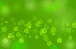Μουτζουρωμένο υπόβαθρο bubbles_ Green_colorful Στοκ Φωτογραφία