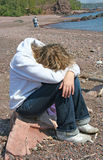 μουτρώνοντας έφηβος Στοκ φωτογραφίες με δικαίωμα ελεύθερης χρήσης