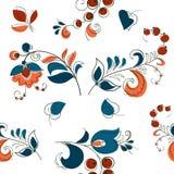 Μούρο και λουλούδια στο ρωσικό ύφος Στοκ Φωτογραφίες