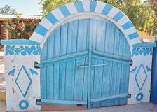 Μολδαβική πόρτα κελαριών στοκ εικόνα με δικαίωμα ελεύθερης χρήσης