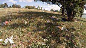 Μολυσμένο πάρκο, σε αργή κίνηση φιλμ μικρού μήκους
