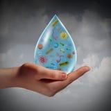 μολυσμένο ύδωρ διανυσματική απεικόνιση