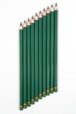 μολύβια ξύλινα Στοκ Εικόνες