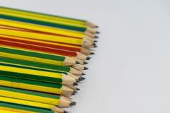 Μολύβια που απομονώνονται Στοκ Εικόνα