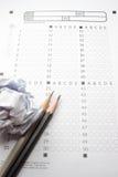 Μολύβια στο διαγωνισμό Στοκ Εικόνες