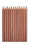 μολύβια χρώματος ξύλινα Στοκ φωτογραφία με δικαίωμα ελεύθερης χρήσης