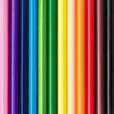Μολύβια χρώματος ουράνιων τόξων Στοκ εικόνα με δικαίωμα ελεύθερης χρήσης