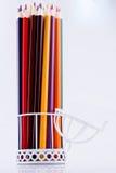 Μολύβια χρώματος του διάφορου χρώματος Στοκ Εικόνες