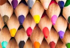 Μολύβια χρώματος Στοκ εικόνα με δικαίωμα ελεύθερης χρήσης