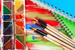 Μολύβια χρώματος στοκ εικόνες