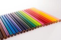 Μολύβια χρώματος Στοκ Εικόνα