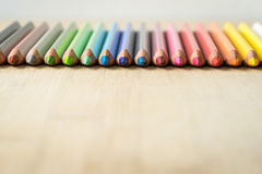 Μολύβια χρώματος Στοκ Φωτογραφία