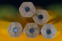7 μολύβια Στοκ φωτογραφία με δικαίωμα ελεύθερης χρήσης