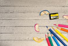 μολύβια Στοκ Εικόνα