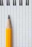 Μολύβι και σημειωματάριο μολύβδου Στοκ φωτογραφίες με δικαίωμα ελεύθερης χρήσης