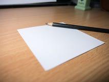 Μολύβι και σημειωματάριο Στοκ φωτογραφίες με δικαίωμα ελεύθερης χρήσης