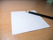 Μολύβι και σημειωματάριο Στοκ εικόνες με δικαίωμα ελεύθερης χρήσης