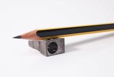 Μολύβι και Sharpener Στοκ Εικόνα