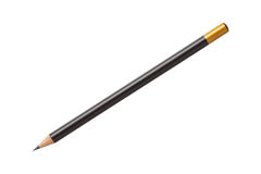 Μολύβι που απομονώνεται ξύλινο στοκ εικόνα