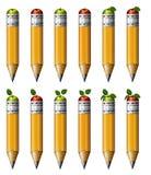 Μολύβι της Apple Στοκ Φωτογραφίες