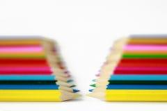 Μολύβι χρώματος Στοκ φωτογραφίες με δικαίωμα ελεύθερης χρήσης