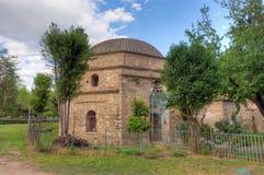 Μπέης Hamam, οθωμανικές λουτρά που βρίσκονται κατά μήκος της οδού Egnatia σε Θεσσαλονίκη, Μακεδονία, Ελλάδα Στοκ Εικόνες