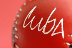 μπέιζ-μπώλ Κούβα Στοκ εικόνες με δικαίωμα ελεύθερης χρήσης