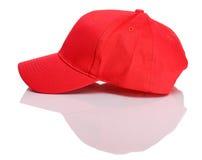 Μπέιζ-μπώλ: Πλάγια όψη του καπέλου του μπέιζμπολ Στοκ Εικόνες