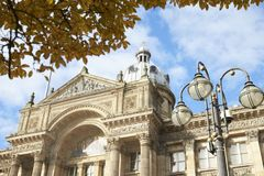 Μπέρμιγχαμ, UK - 6 Νοεμβρίου 2016: Εξωτερικό του κτηρίου Δημοτικού Συμβουλίου του Μπέρμιγχαμ στην πλατεία Βικτώριας στοκ εικόνες