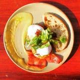Μπέϊκον και πρόγευμα αυγών Στοκ φωτογραφίες με δικαίωμα ελεύθερης χρήσης