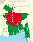 Μπαγκλαντές Στοκ φωτογραφία με δικαίωμα ελεύθερης χρήσης