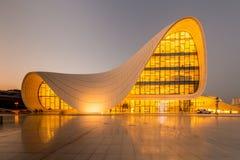 ΜΠΑΚΟΥ 20 ΙΟΥΛΊΟΥ: Κέντρο Aliyev Heydar Στοκ Εικόνα