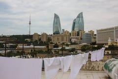 Μπακού Αζερμπαϊτζάν Στοκ εικόνα με δικαίωμα ελεύθερης χρήσης