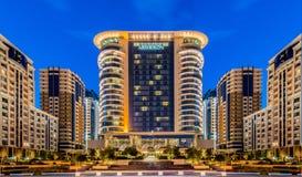 Μπακού - 13 Ιουνίου 2014: Ξενοδοχείο Marriott στις 13 Ιουνίου στο Μπακού, Azerbai Στοκ φωτογραφία με δικαίωμα ελεύθερης χρήσης