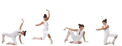 μπαλέτο σύγχρονο στοκ φωτογραφία