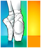 μπαλέτο ballerina Στοκ φωτογραφίες με δικαίωμα ελεύθερης χρήσης