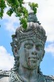 Μπαλί, Ινδονησία - 10 ΟΚΤΩΒΡΊΟΥ 2018 Άγαλμα Vishnu στο πάρκο Garuda Wisnu Kencana στοκ φωτογραφίες