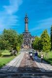 ΜΠΑΛΙ, ΙΝΔΟΝΗΣΙΑ - 10 ΑΠΡΙΛΊΟΥ 2017: Πάρκο Badung Puputan, Μπαλί στοκ φωτογραφίες