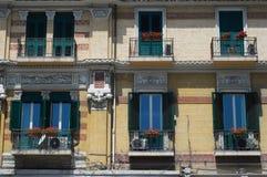 μπαλκόνια ιταλικά στοκ εικόνες με δικαίωμα ελεύθερης χρήσης