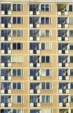 Μπαλκόνια στο κατοικημένο κτήριο διαμερισμάτων Στοκ Εικόνα