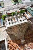 μπαλκόνι Βενετία Στοκ Εικόνα