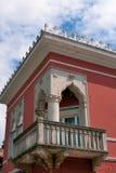 μπαλκόνι παλαιό Στοκ Εικόνα